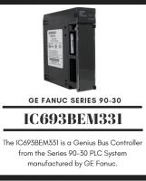 GE FANUC IC693BEM331